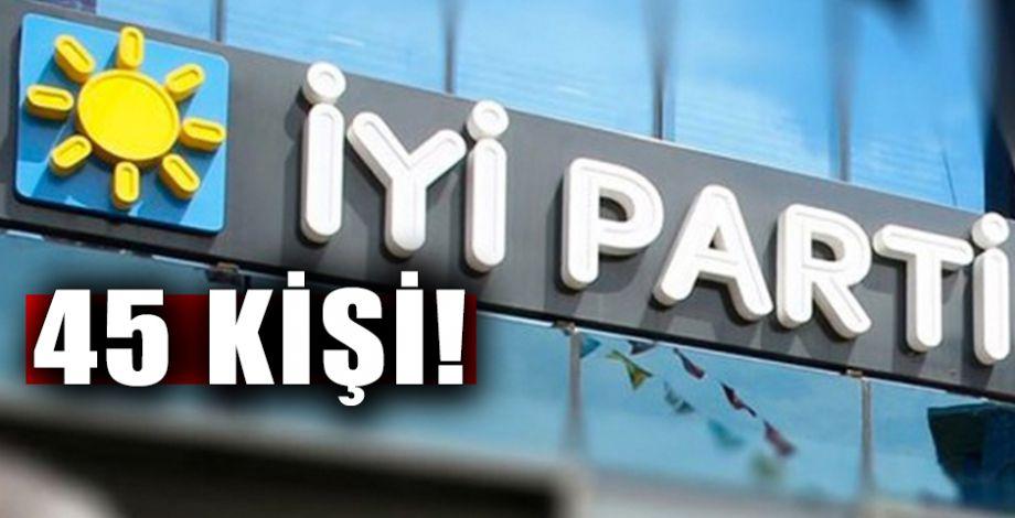 İYİ Parti'deki istifa dalgası Şanlıurfa'yı da vurdu!