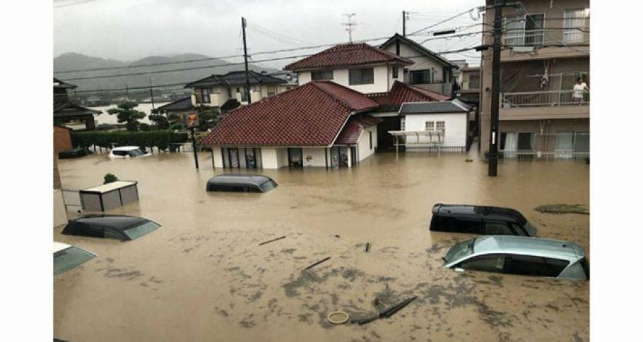 Japonya'daki sel felaketinde ölü sayısı artıyor!