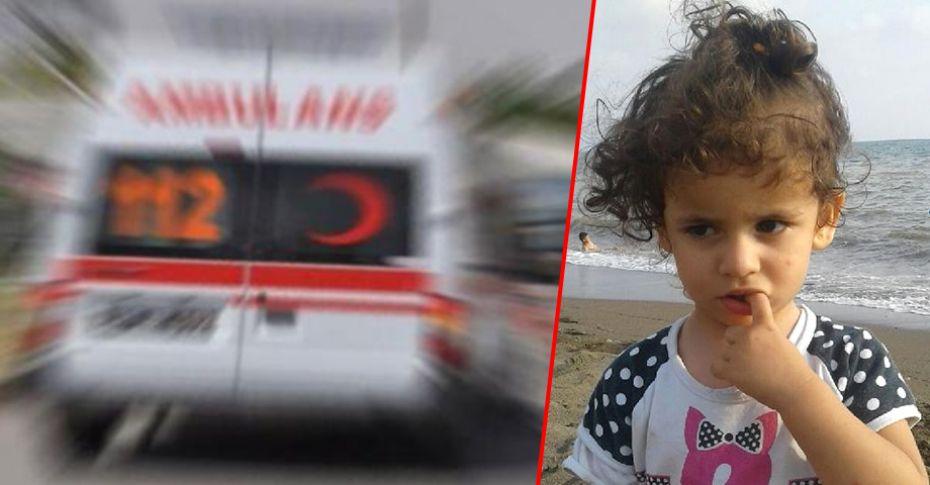 Kamyonun çarptığı küçük kız yaşamını yitirdi