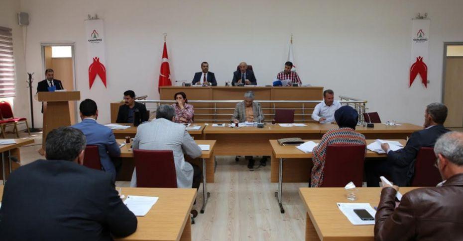 Karaköprü Belediye Meclis Toplantısı yapıldı