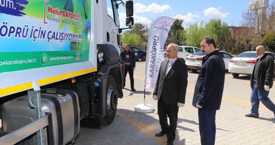 Karaköprü Belediyesi araç filosunu güçlendiriyor  (videolu)