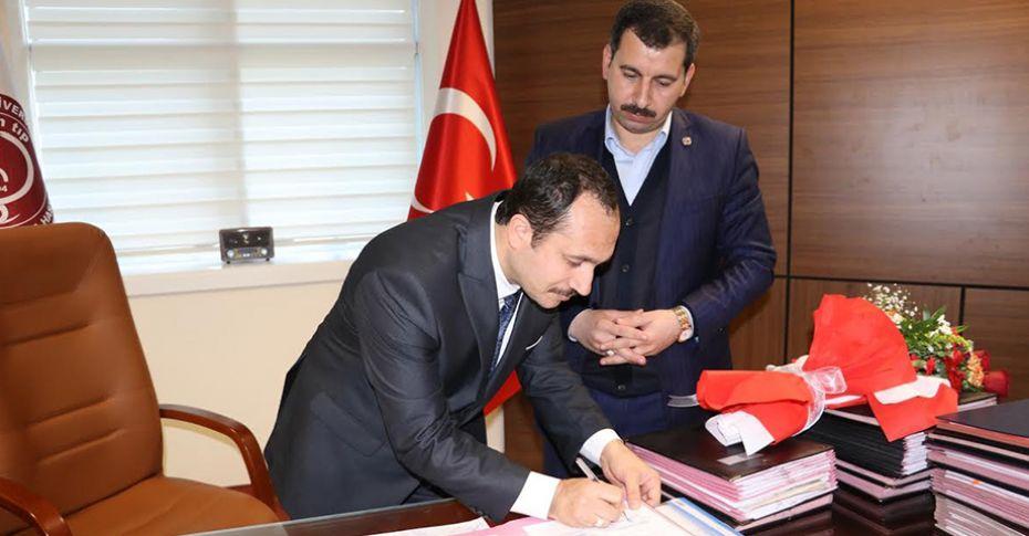 Karaköprü Belediyesi ile HRÜ arasında eğitim protokolü imzalandı