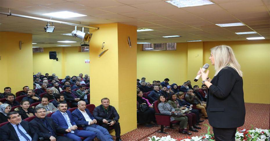 Karaköprü belediyesi personeline sigara bırakma semineri verildi