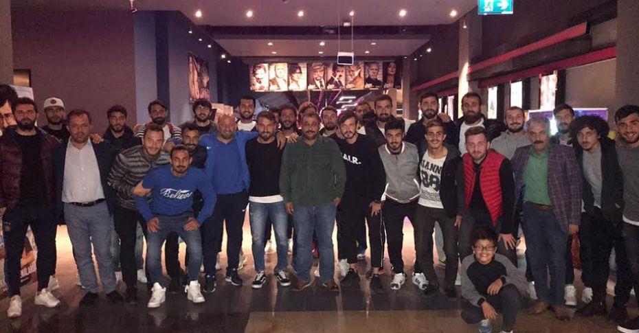 Karaköprü Belediyespor, maç öncesi moral depoladı