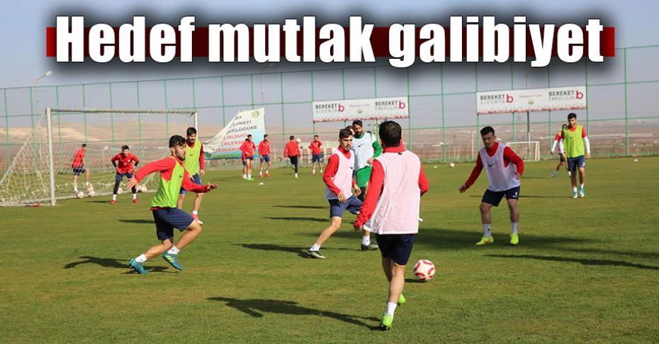 Karaköprü Belediyespor Payasspor maçına hazır!