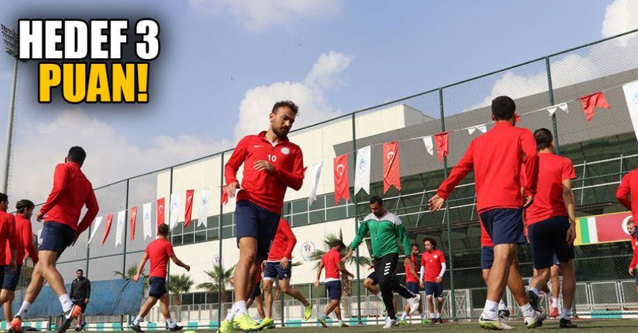 Karaköprü Belediyespor'da Tepecikspor maçı hazırlıkları