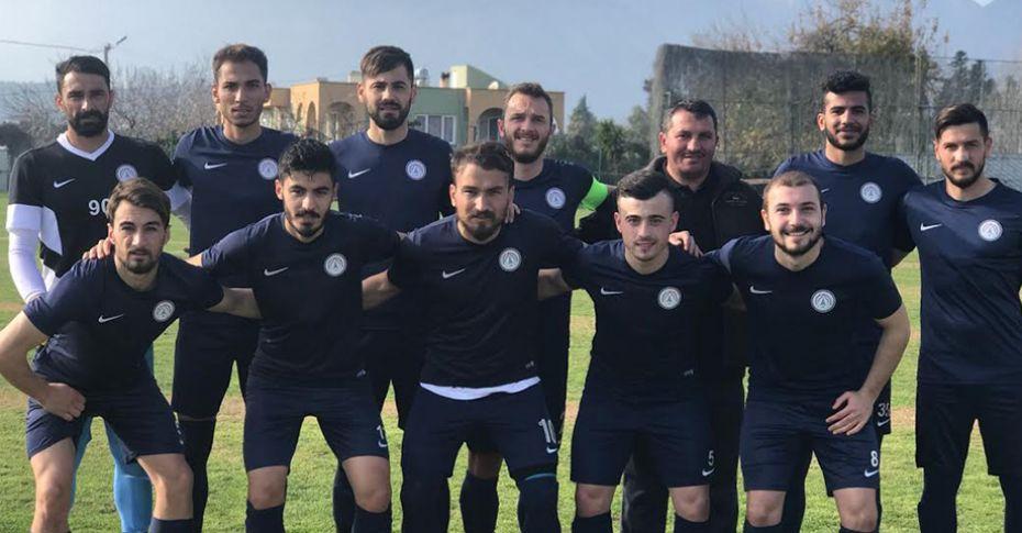 Karaköprü Belediyespor'dan 2-1'lik prova