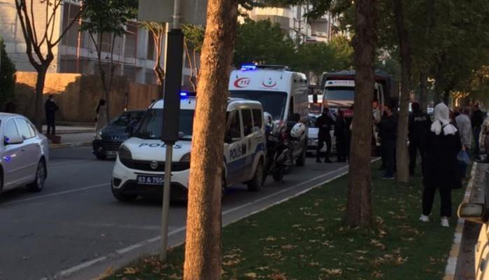 Karaköprü'de kaza: Sürücüler arasında kavga çıktı