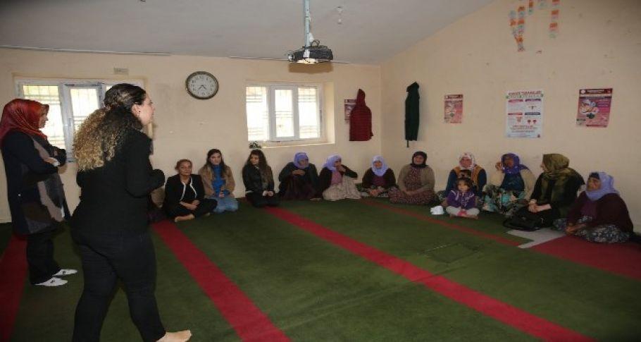 Karaköprü kırsalında kadınlara kanser ve sağlıklı beslenme eğitimi