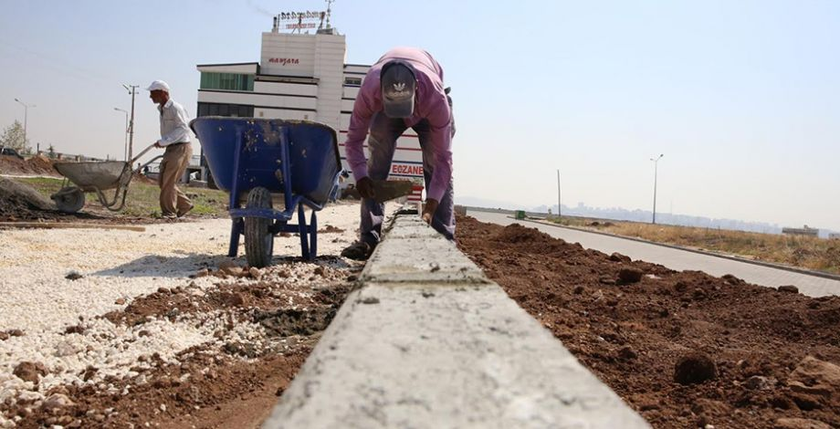 Karaköprü Seyrantepe'ye 10 bin m2'lik park yapılıyor