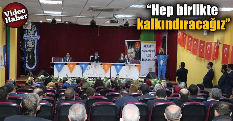 Karaköprü'de Kasım Ayı İlçe Danışma Meclisi toplantısı gerçekleşti