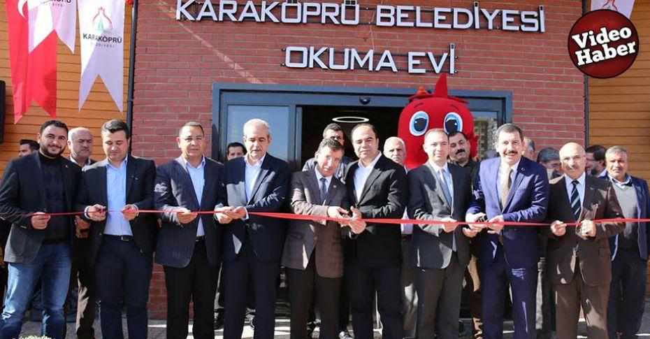 Karaköprü'de 'Okuma Evi' açıldı