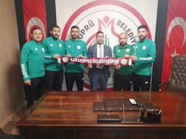 Karaköprüspor'dan 5 transfer