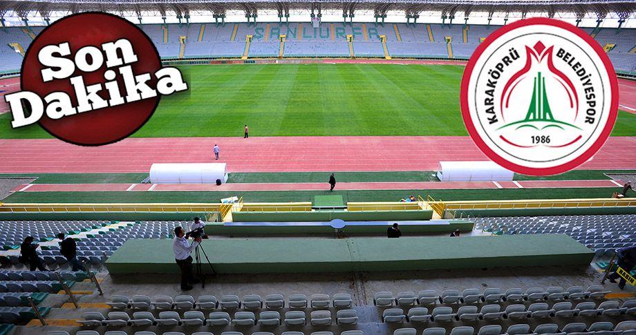 Karaköprü Belediyespor'un maçları 11 Nisan'da!