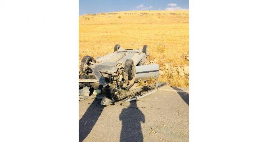 Kaza yapan akrabalarının yanına giderken kaza geçirdiler