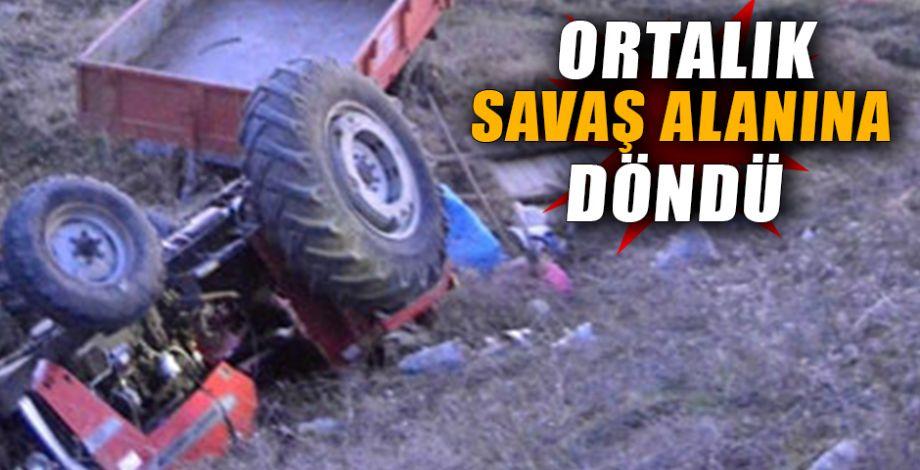 Kazada 3 kişi öldü 32 kişi yaralandı!