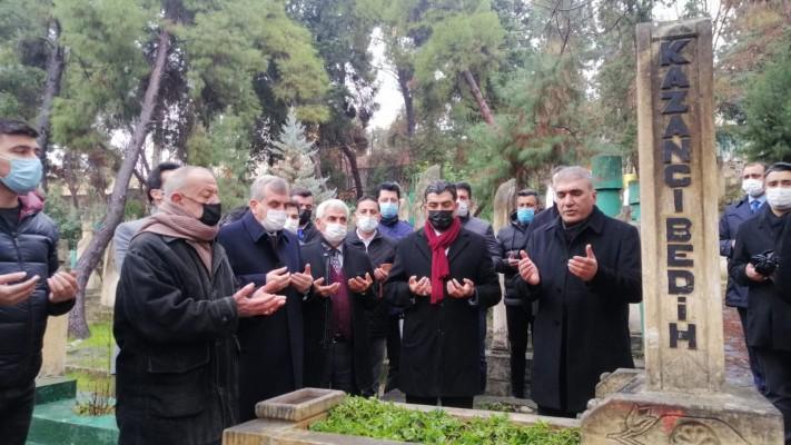 Kazancı Bedih mezarı başında anıldı (EK)