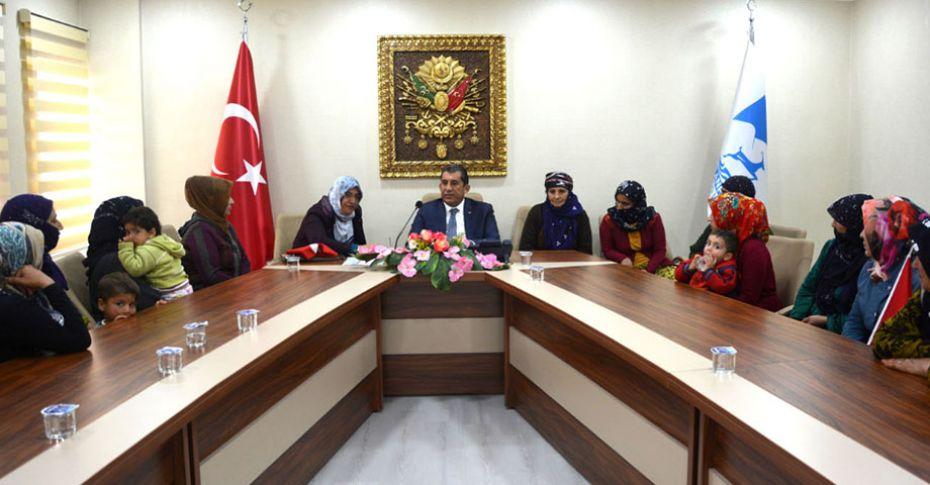 Kejanlı Kadınlardan Zeytin Dalı Operasyonuna destek