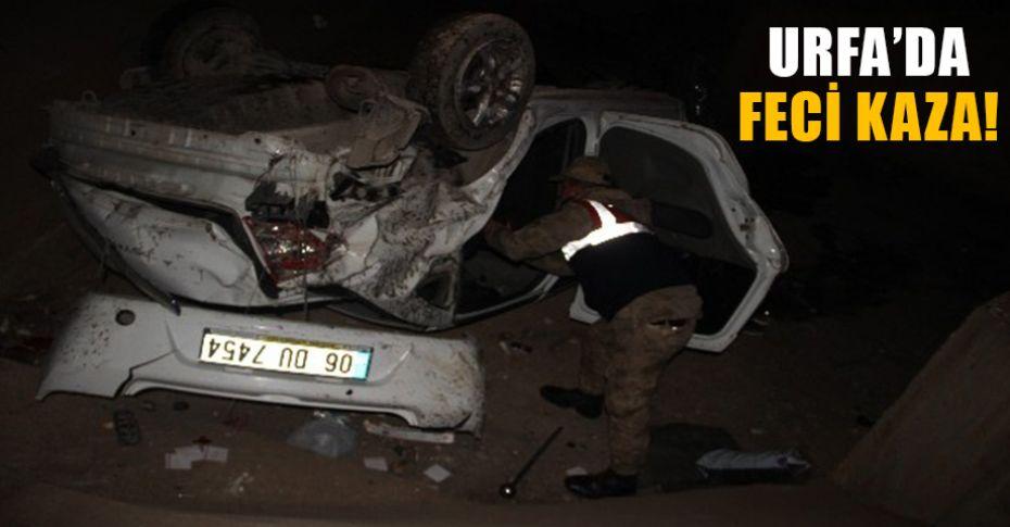 Kiraladıkları araçla kaza yaptılar! 1 ölü 4 yaralı