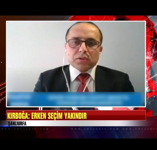 Kırboğa'dan erken seçim açıklaması (videolu)