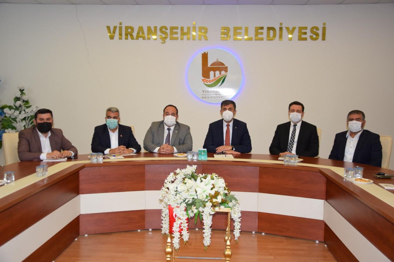Kırıkçı'dan Viranşehir Belediyesine ziyaret
