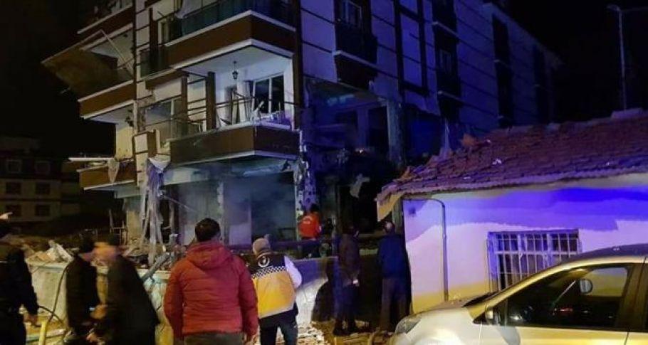 Kırıkkale'de doğalgaz patladı: 10 yaralı