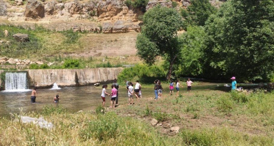 Kısıtlamaya rağmen vatandaşlar piknik alanına akın etti