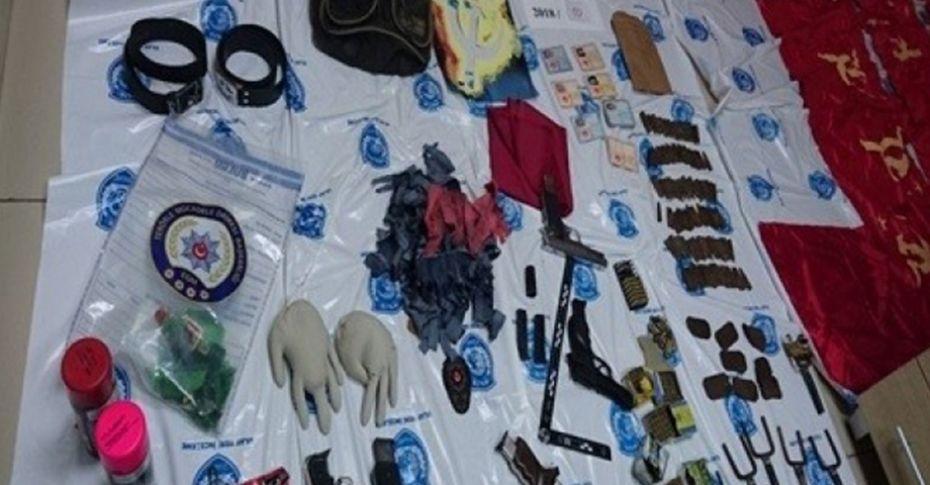 Kocaeli'de eylem hazırlığındaki teröristler yakalandı