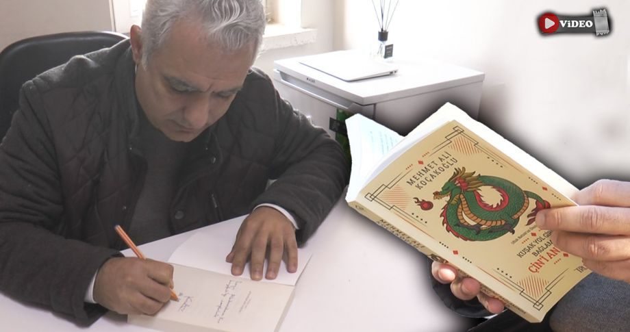 """Koçakoğlu'nun """"Çin'i Anlamak"""" adlı ilk kitabı çıktı!"""