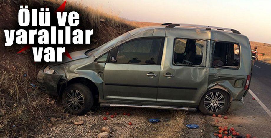 Kontrolden çıkan araç takla attı!
