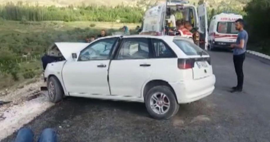 Konya'da trafik kazası, 1 ölü, 7 yaralı