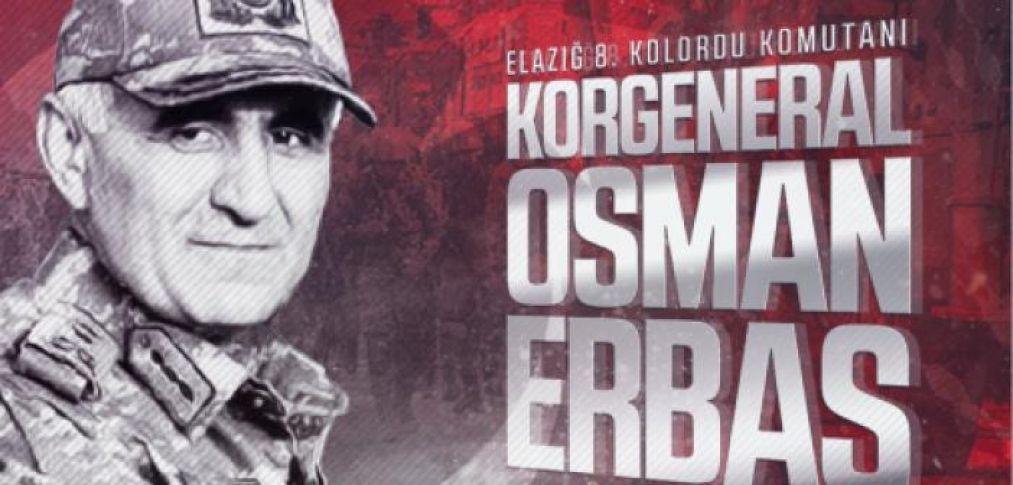 Korgeneral Erbaş, şehit oldu!