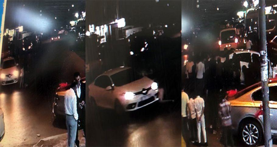 Küçük kız aracın altında kaldı, vatandaşlar aracı elleriyle kaldırdı