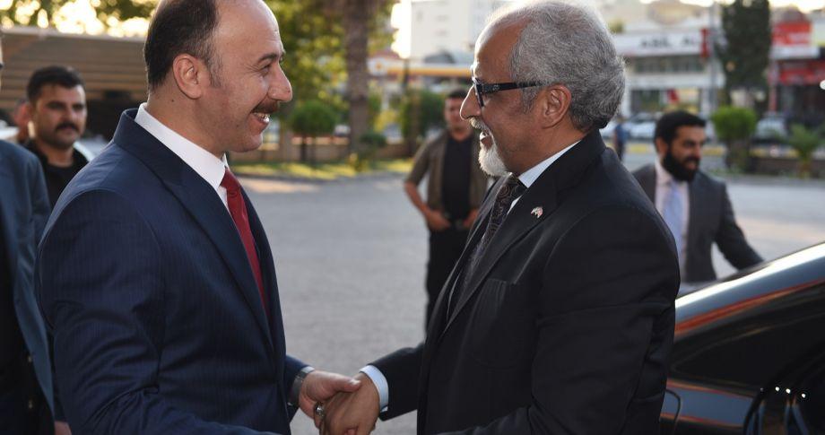 Kuveyt Büyükelçisi Zawawi Şanlıurfalılara Teşekkür Etti