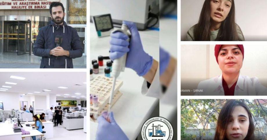 Laboratuvar teknikerleri atama bekliyor (Videolu)