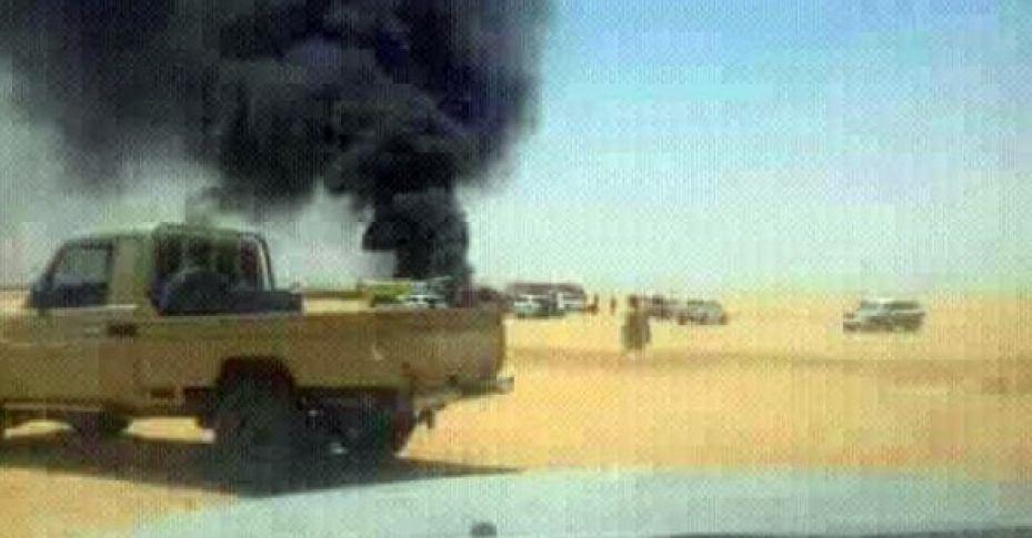 Libya'da askeri uçak düştü: 3 ölü