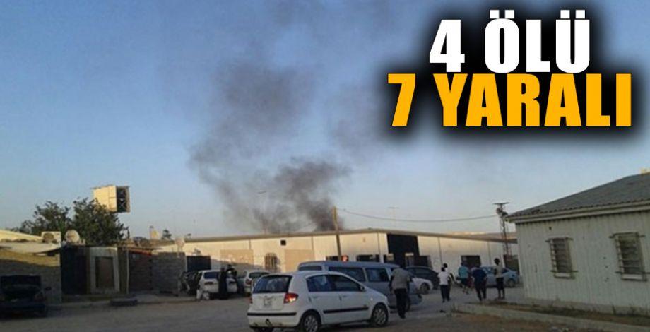 Libya'da mülteci kampına füze düştü!
