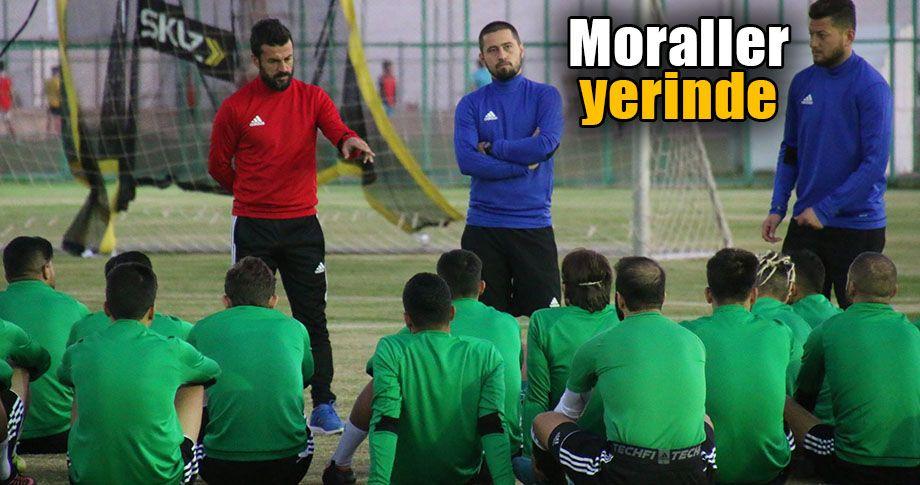Lider Şanlıurfaspor, Sakaryaspor maçına hazırlanıyor