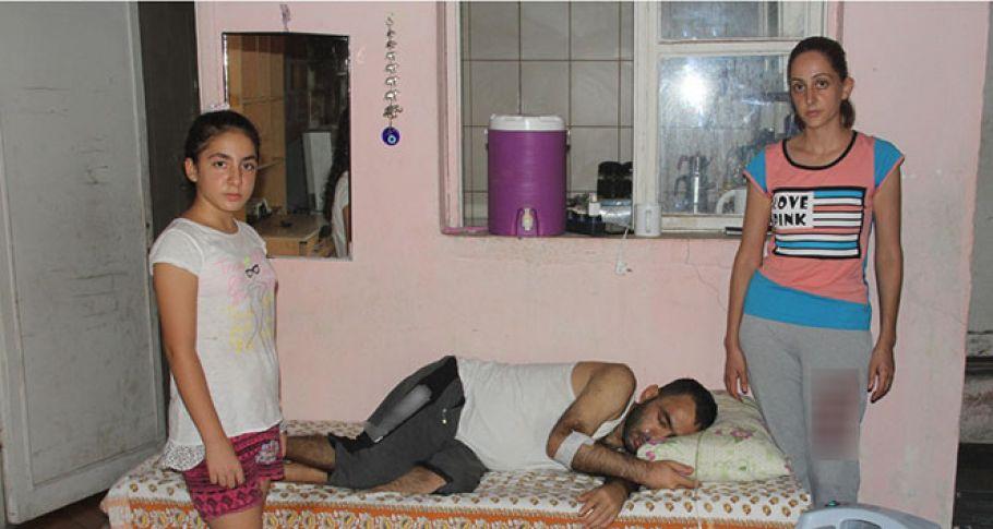 Lösemi hastası evde ölümü bekliyor