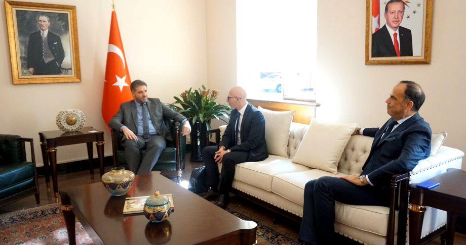 Mar Yapı yöneticilerinden Büyükelçi Önen'e ziyaret