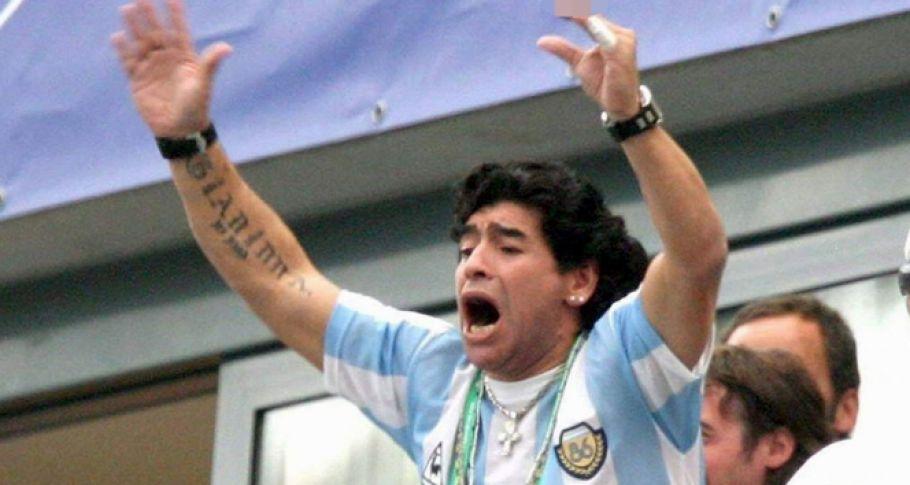 Maradona: Ben Filistinliyim