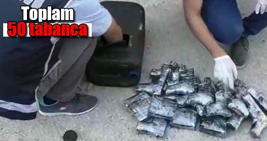 Mardin'de 11 hayalet silah bulundu