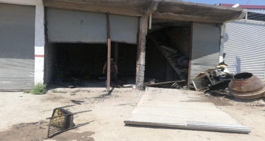 Mardin'de LPG tankı patladı: 1 yaralı