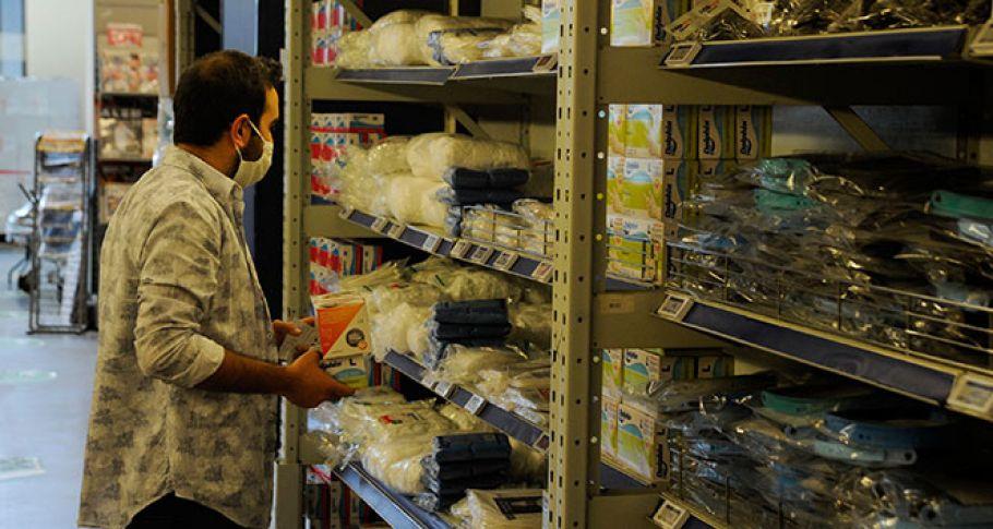 Marketlerde cerrahi maske satışı başladı