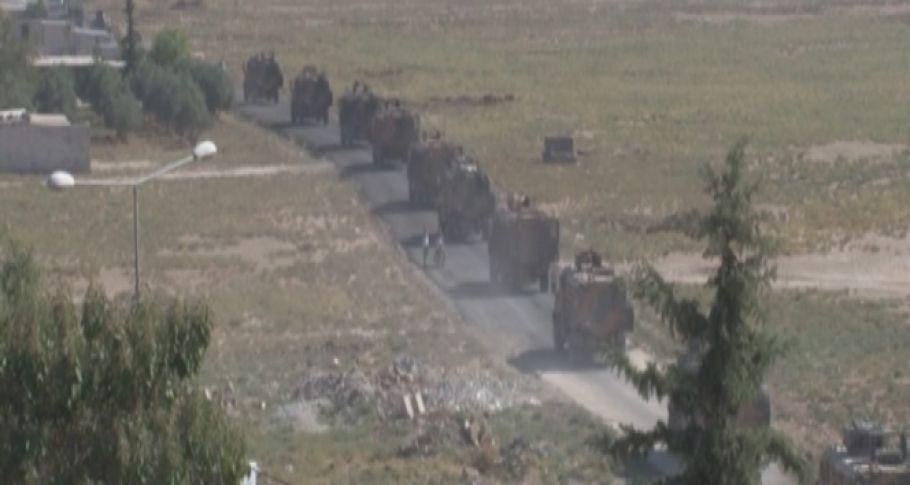 Mehmetçik ve Suriye Milli Ordusu Tel Abyad sınırında