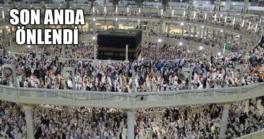 Mekke'de terör saldırısı!