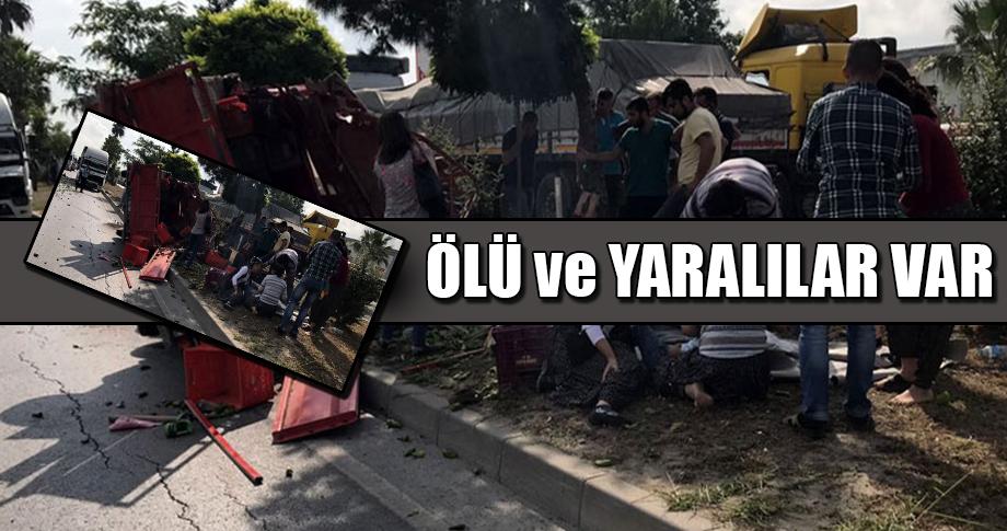 Mersin'de korkunç kaza!..