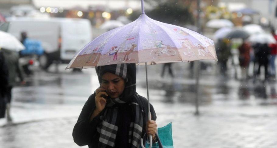 Meteoroloji'den yağış uyarısı! 28 Mart yurtta hava durumu