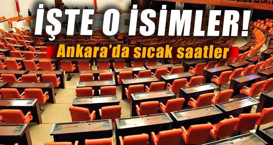 Mevcut 4 bakan milletvekili listesinde yok!