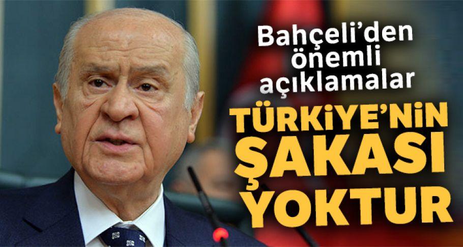 MHP Genel Başkanı Bahçeli'den önemli açıklamalar!